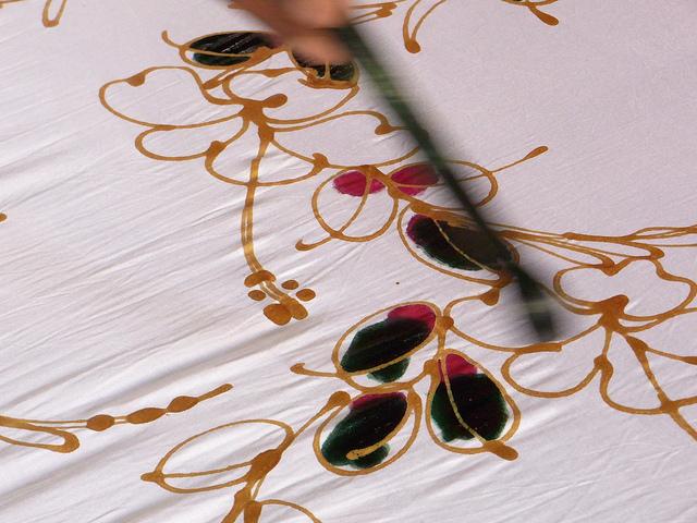 L'art du batik